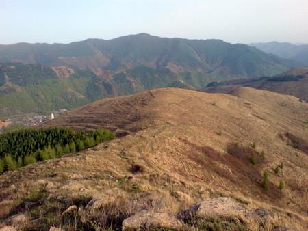 Wutai Shan landskap