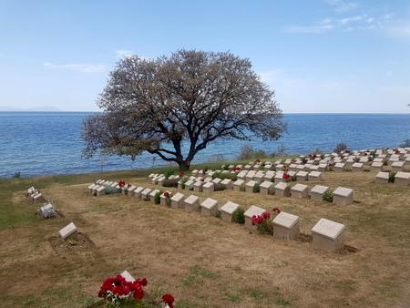 Ari Burnu gravplassen