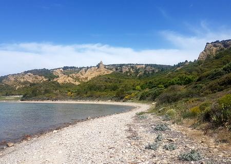 Strand og sfinx