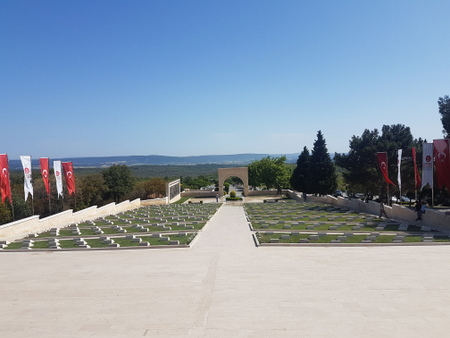 Tyrkisk gravplass