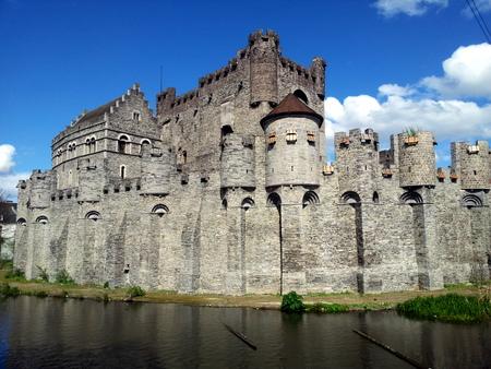 Slottet Gravensteen i Gent