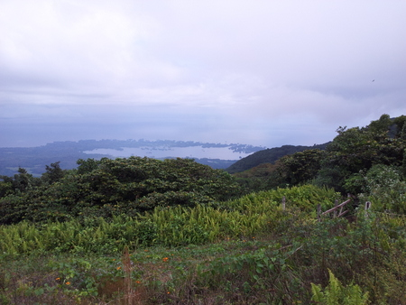 Utsikt fra Mombacho