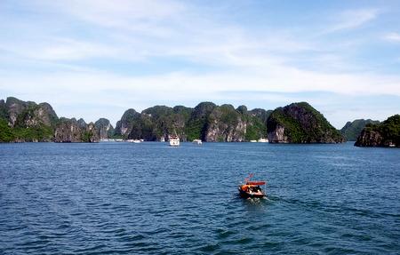 Øyer i Halong Bay