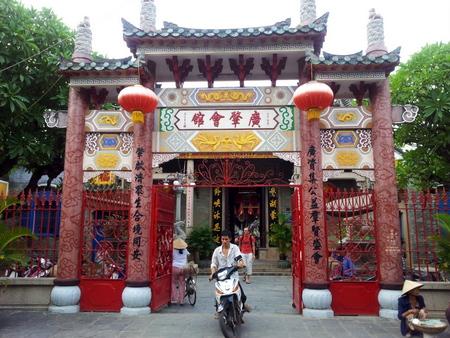 Hoi An - kinesisk tempel