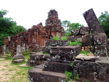 Tempelruinene My Son i nærheten Hoi An