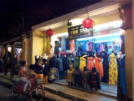 Klesbutikk i Hoi An