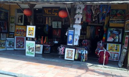 Suvenirbutikk i Hoi An