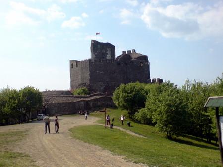 Utenfor slottet