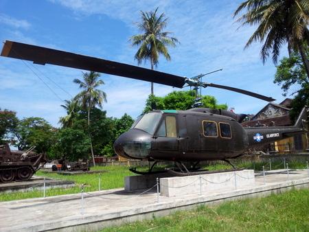 Amerikansk helikopter fra Vietnamkrigen