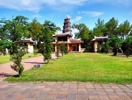 Thien Mu pagoden i Hue