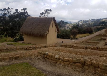 Rekonstruert hus