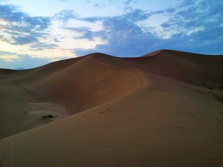 Sanddyner utenfor Yazd