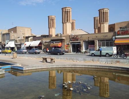 Vindfangere i Yazd