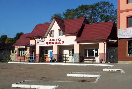 Bussterminalen i Jaremtsje