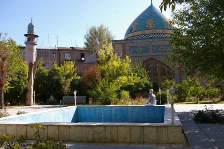 Den blå moske i Jerevan