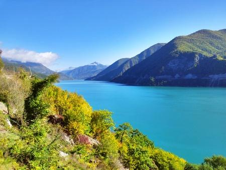 Ananuri-innsjøen