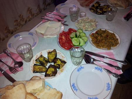 Hjemmelaget georgisk mat