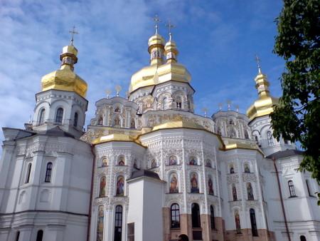 Katedral i Kievo-Pecherska lavraen i Kiev