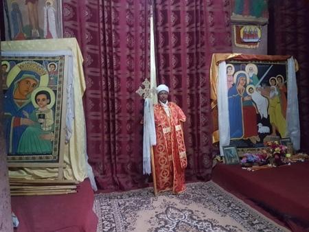 Prest i Lalibela