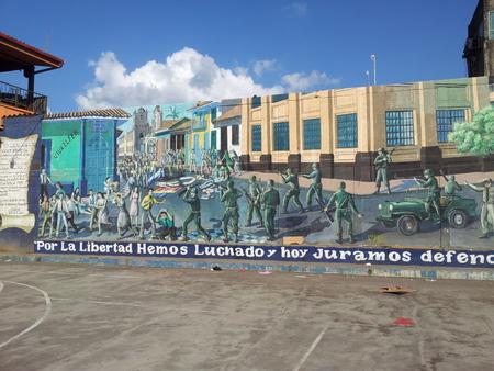 Revolusjonær graffiti