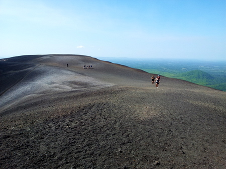 Toppen av Cerro Negro
