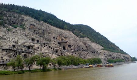 Panoramautsikt fra vestlig side