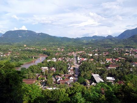 Utsikt over Luang Prabang