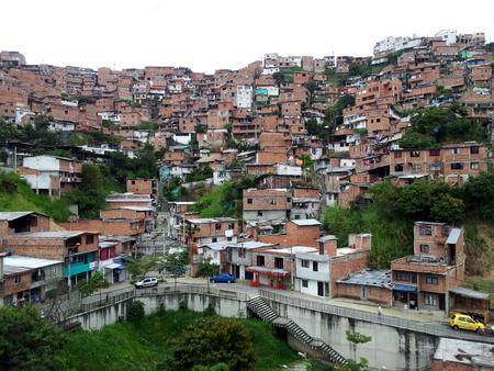 Slummen i Medellin