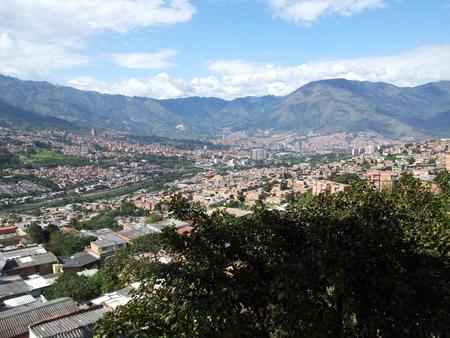 Utsikt over Medellin