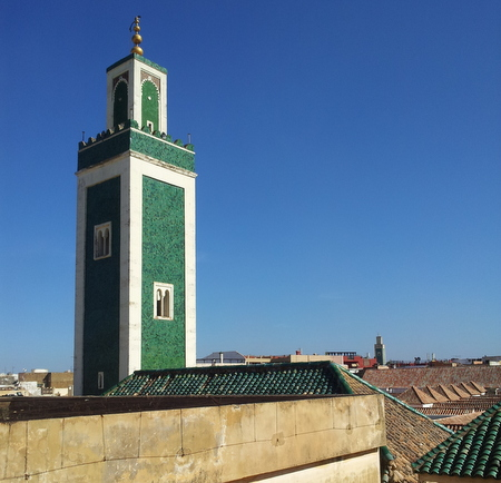 Grand Mosque minaret