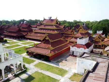Kongepalasset i Mandalay