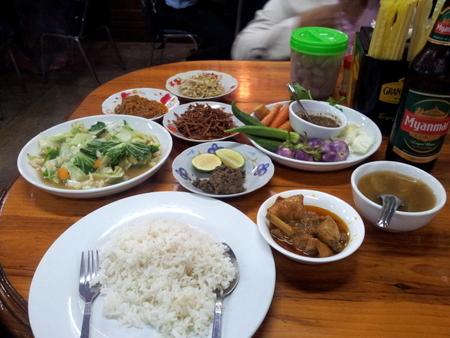 Burmesisk mat