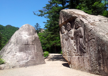 Buddhistiske utskjæringer