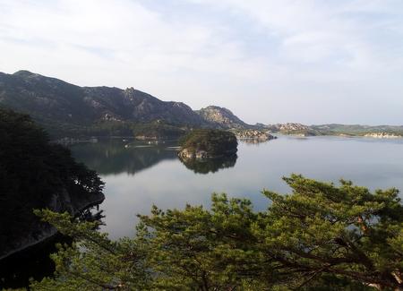 Kysten ved Kumgang
