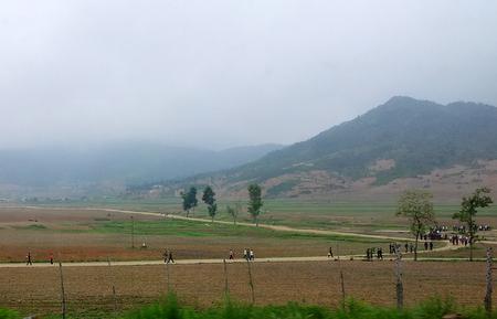 Nord-koreansk landsbygd