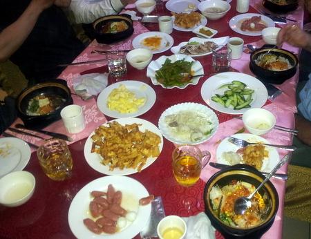 Mat i Nord-Korea