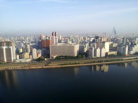 Pyongyang utsikt