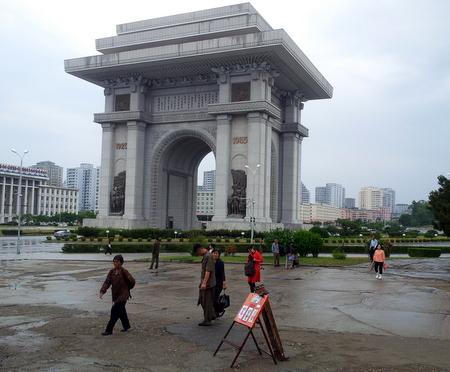 Triumfbuen i Nord-Korea