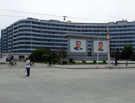 Trafikkbetjent i Wonsan