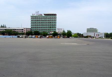 Wonsan sentrum
