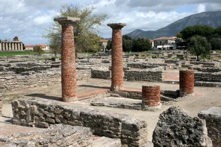 Ruiner i Paestum