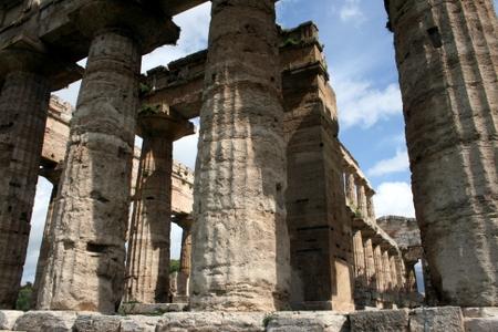 Søyler i Paestum