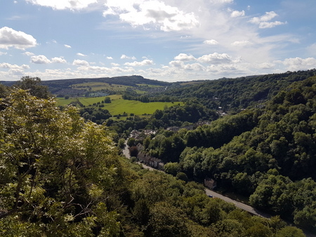 Utsikt over Matlock Bath