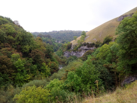 Landskap langs Monsal trail