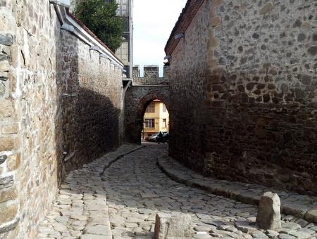 Gamlebyen i Plovdiv