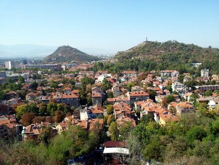 Utsikt over Plovdiv