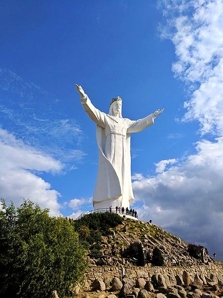 Skulptur av Jesus