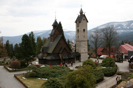 Vang stavkirke i Polen