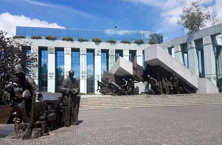 Skulptur jødisk ghetto