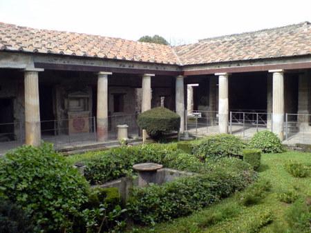 pompeii dekket av aske
